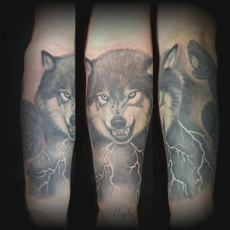 tattoos/ - Wolf rework tattoo by Haylo  - 141411