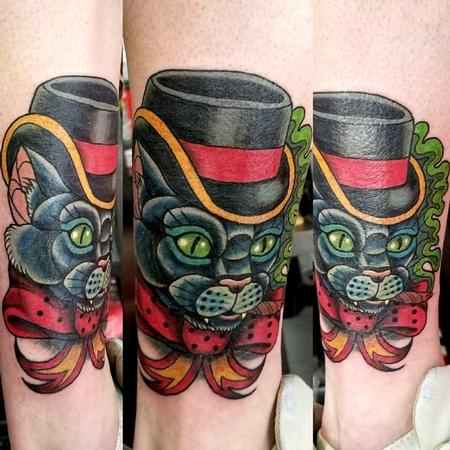 tattoos/ - top hat cat - 141336
