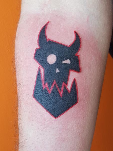 tattoos/ - Warhammer Orc Tattoo - 127594