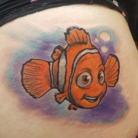 tattoos/ - Finding Nemo Color Tattoo - 133565