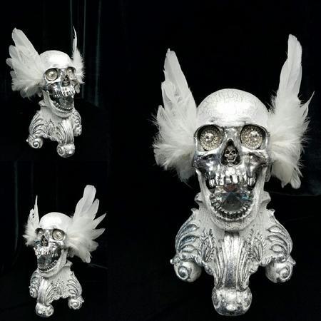 Art Galleries - Angelic Skull - 126181