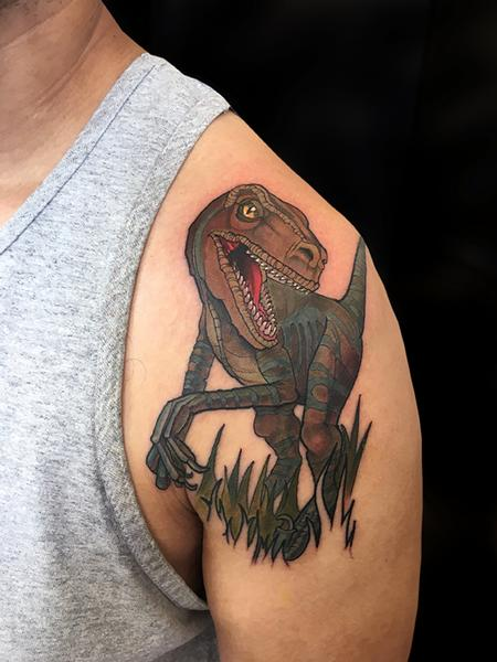 tattoos/ - Velociraptor  - 132592