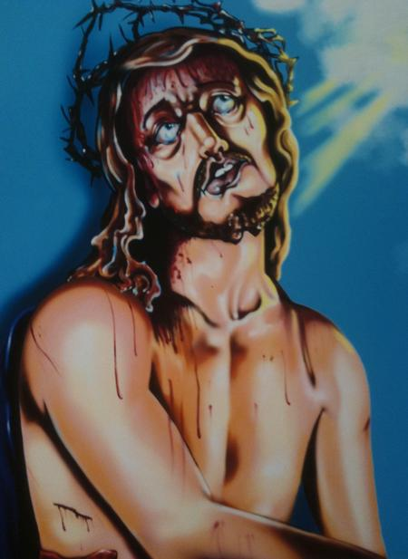 Art Galleries - Jesus Color Painting - 58813