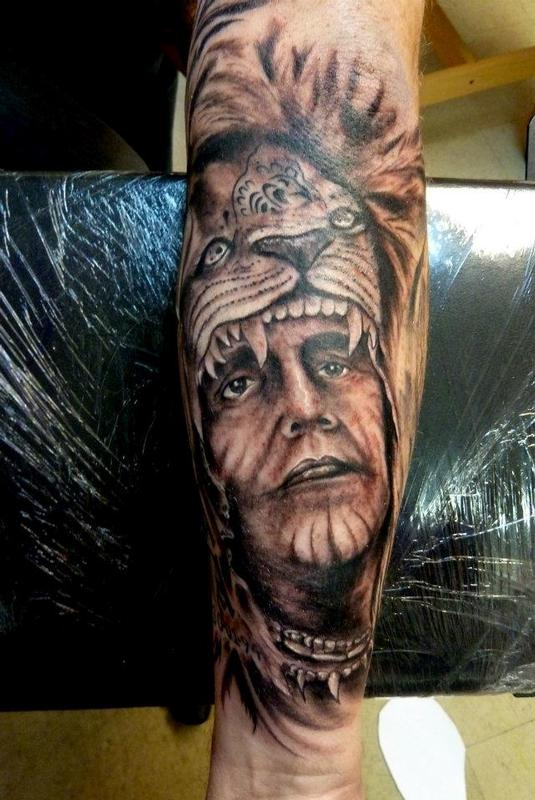 2261c4c64 Mully Tattoo : Tattoos : Ethnic Native American : Indian chief