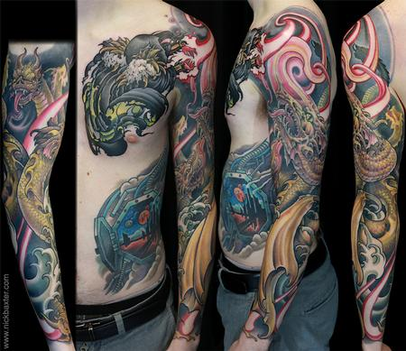 tattoos/ - Wizard and Hydra - 140922