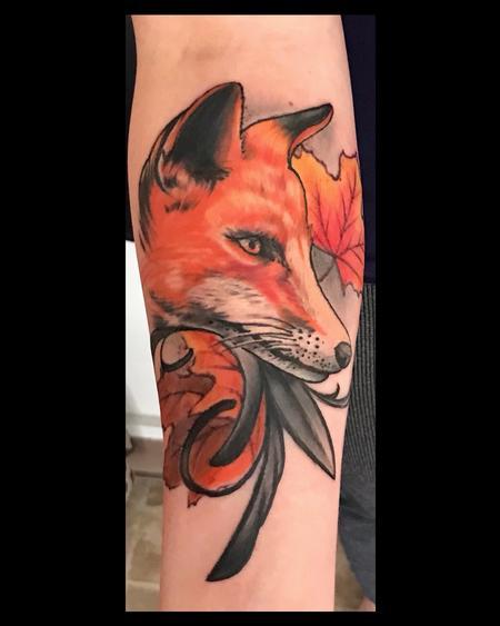tattoos/ - Fresh Fall Fox - 142912