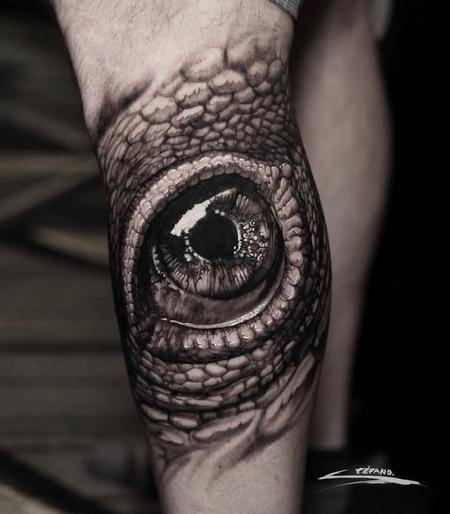 tattoos/ - REALISTIC REPTILE EYE - 140175