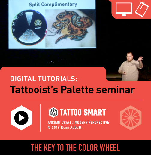The Tattooist's Palette with Russ Abbott