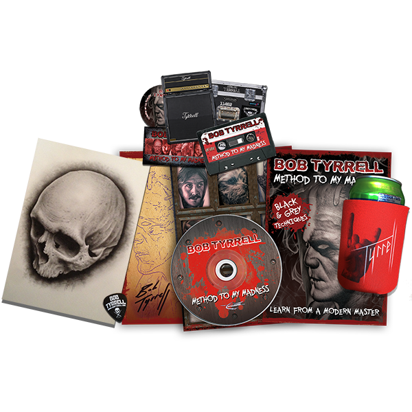 BOB TYRRELL Method To My Madness DVD SPECIAL LIMITED EDITION