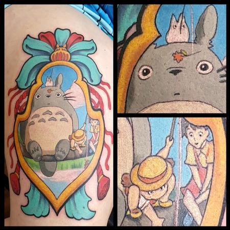 tattoos/ - Totoro Japanese Tag - 141965