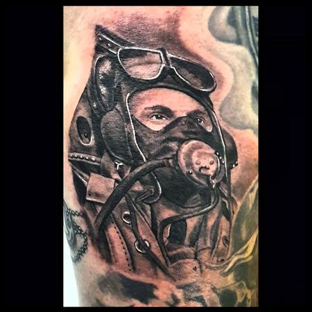 tattoos/ - WW2 Spitfire Pilot - 142230