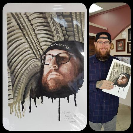 Art Galleries - Portrait of Jake, Studio13Tattoo - 134992