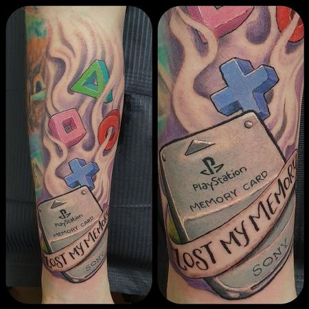 tattoos/ - Play Station memory card - 141405