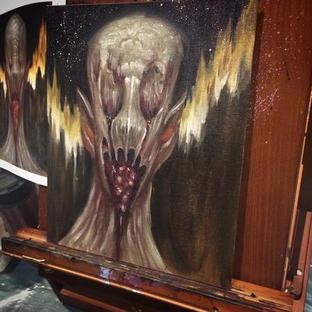 Art Galleries - Monster study - 103980