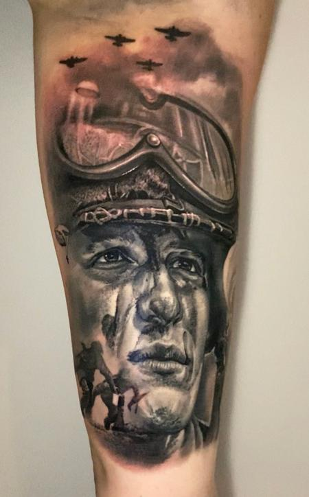 tattoos/ - Fighter jet pilot - 142823