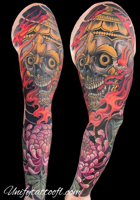 tattoos/ - Tibetan Skull - 138930