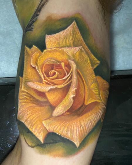 tattoos/ - Yellow Rose Tattoo - 142816