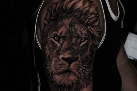 tattoos/ - Lion - 141811