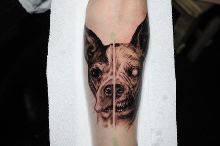 tattoos/ - Evil dog - 141710
